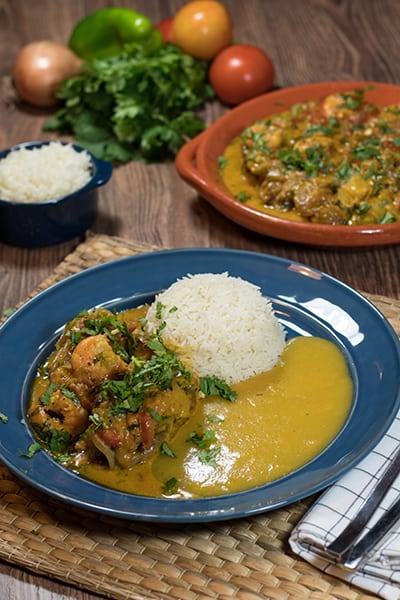 Brazilian fish stew (or moqueca)