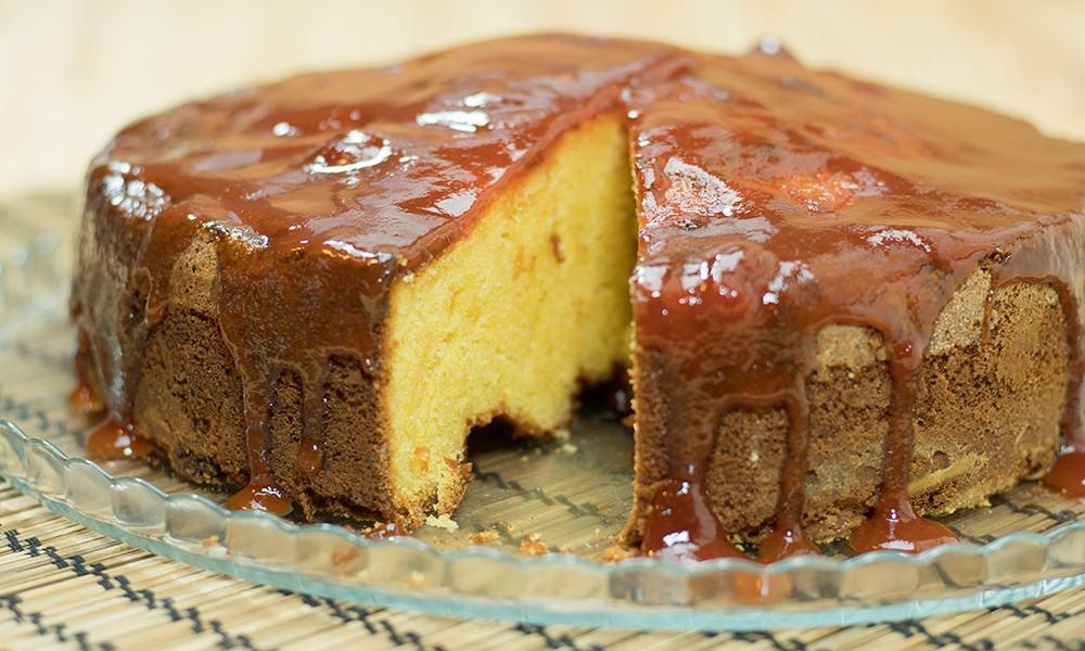 Guava Jelly Cake Recipe: Brazilian Cornmeal Cake With Guava Jelly