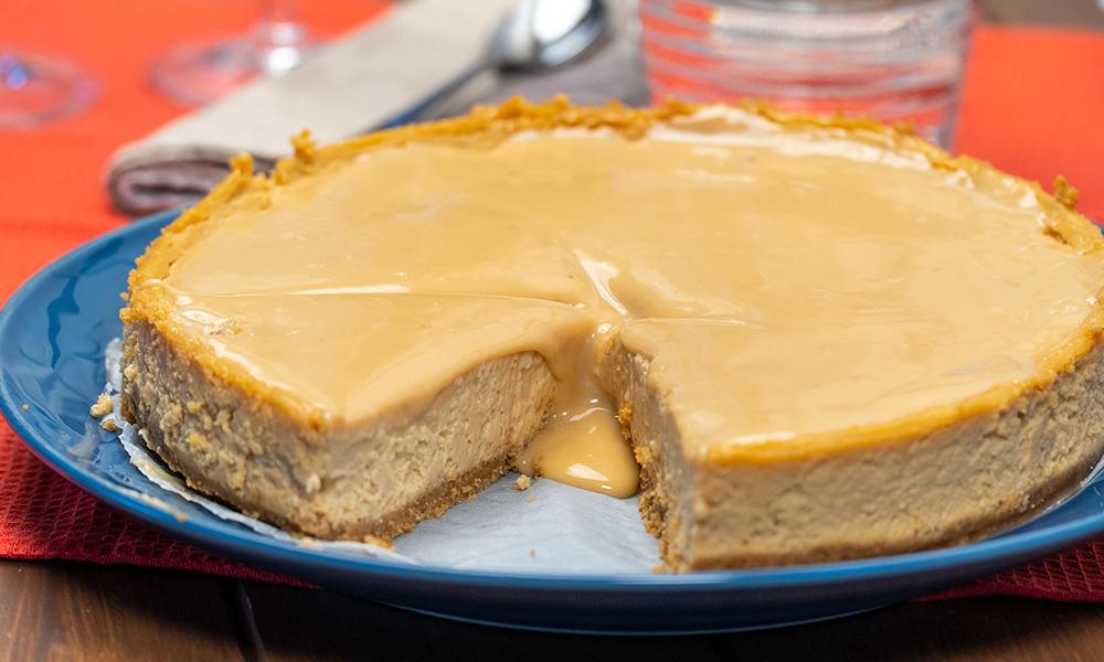 Cheesecake Doce de Leite
