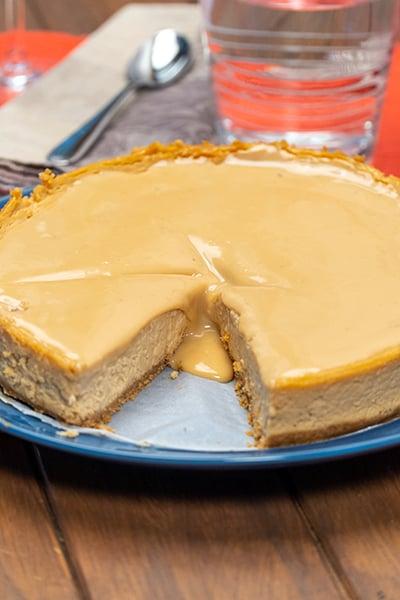 Cheesecake Doce e Leite