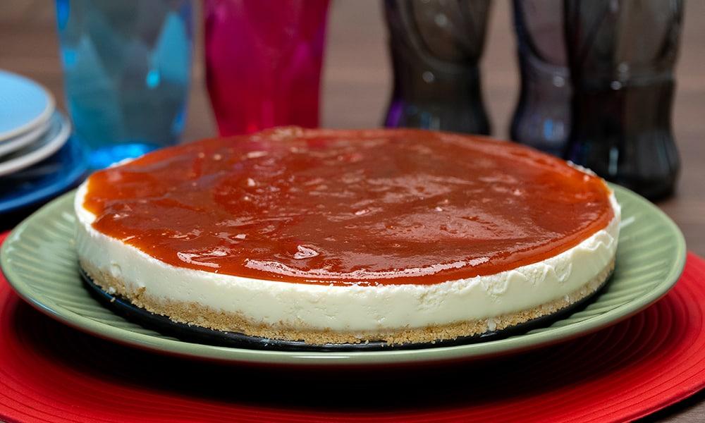 Cheesecake Romeu & Julieta