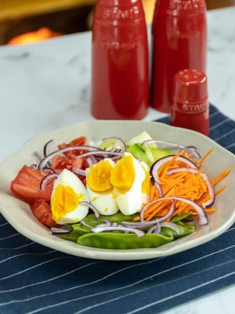 Salada de ervilha ambrósia